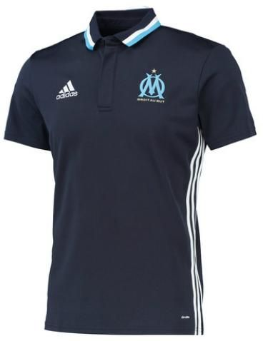 Olympique Marseille Polo (donker blauw) €45,-