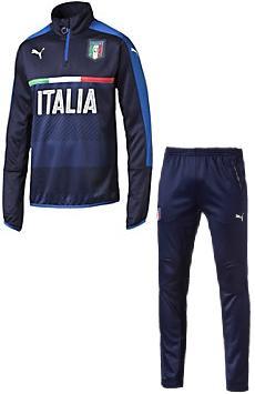 Puma Italie Trainingspak (halve rits) SR €105,- JR €95,-