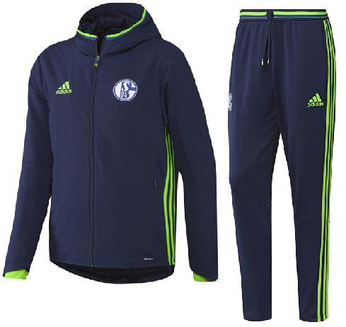 Adidas Schalke 04 Presentatie pak €130,-