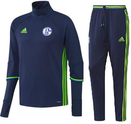 Adidas Schalke 04 Trainingspak €130,-
